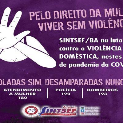 Pelo direito da mulher viver sem violência